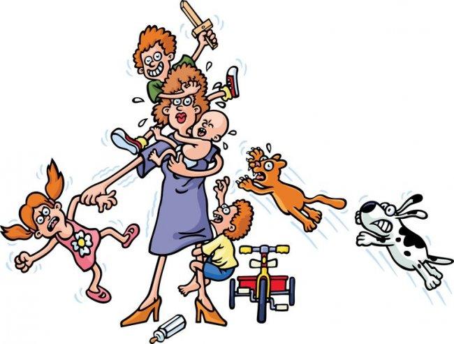 Женщина зашла в офис, ведя за собой 15 детей. Реальные - нереальные истории.