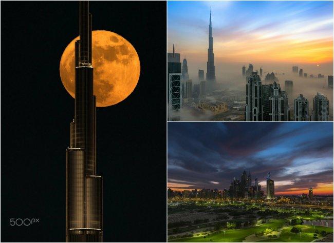 Потрясающие снимки Дубая.
