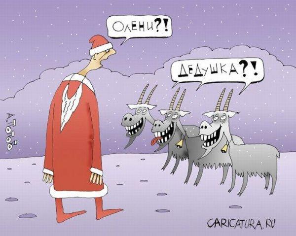 Новогодние анекдоты.
