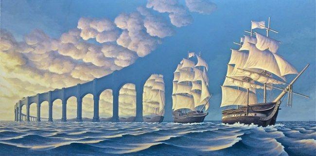 Истории об искусстве. Оптические иллюзии.