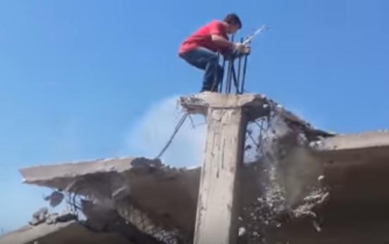 Горе строители. Не делайте так.