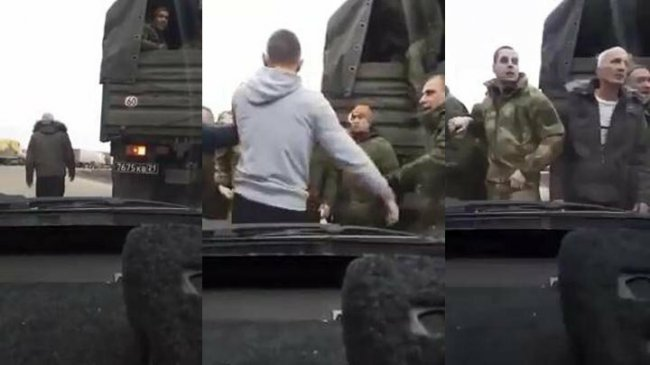 Бессмертный водитель вышел разбираться с целой толпой военных в Краснодаре