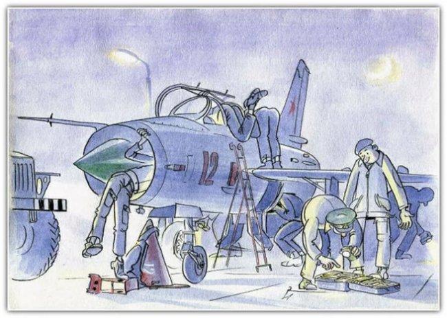 Гибель самолета из-за отвертки