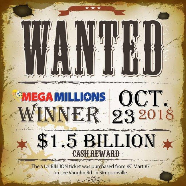 Победитель лотереи так и не забрал $1,5 млрд. Теперь у всех будут проблемы