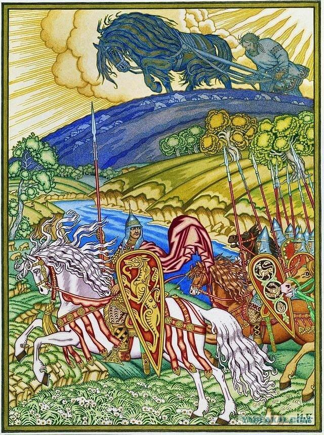 мечтой былинные богатыри в картинах художников своих