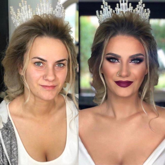 Когда свадебный макияж превращал обычную девушку в принцессу